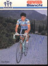 PAOLO ROSOLA cyclisme ciclismo dédicace GEWISS BIANCHI