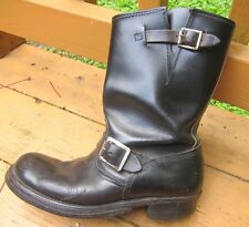 VTG 50S/60's  UNBRANDED ENGINEER MOTORCYCLE BIKER BOOTS  MENS SIZE  6 1/2