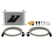 Mishimoto Thermostatic Universal 25 Row Oil Cooler Kit - Silver