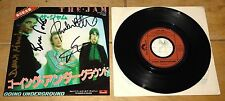 "THE JAM ~ GOING UNDERGROUND ~ FULLY SIGNED JAPANESE JAPAN 7"" 1980 ~ PAUL WELLER"