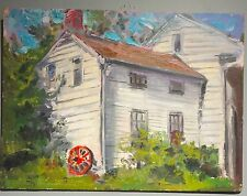 Vito Tomasello 1961 oil painting Staten Island The Golden House