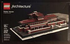 Lego 21010 - Architecture - Robie House - Frank Lloyd   Retired - NISB