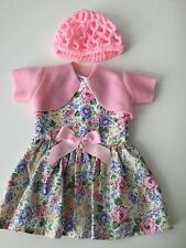 """American Made Doll Clothes Floral Dress for 18"""" dolls Lea Clark-Melody Ellison"""