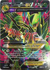 Pokemon TCG XY ANCIENT ORIGINS : MEGA M SCEPTILE EX 85/98 FULL ART