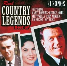 Real Country Legends: Best Of by Various Artists (CD, Oct-2011, TGG Direct)