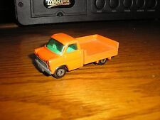 Nice Vintage Matchbox Superfast No.66 Ford Transit Orange with a side drop box