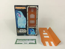 "custom Vintage Star wars 12"" princess leia holographic box + inserts hologram"