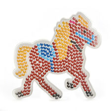 1 Pcs Pegboards for DIY Beads Hama Fuse Beads Clear Horse Design Board MCK