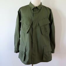 VINTAGE 1969 US ARMY VIETNAM JUNGLE JACKET COMBAT TROPICAL RIP STOP SIZE XL NOS