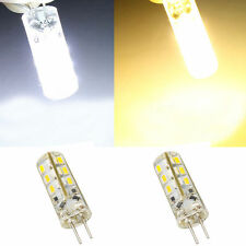 10X G4 Home 3014SMD LED Light Lamp Warm White Silicone Crystal 12V 1.5W Hot New#