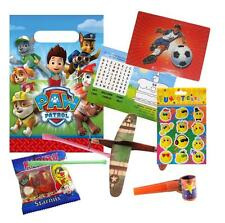 Boys Pre Filled Paw Patrol Party Bag Ready Made Birthday Treats Loot Favours