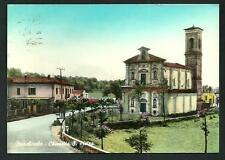 Marchirolo ( Varese ) - Chiesetta S. Pietro  cartolina viaggiata nel 1961
