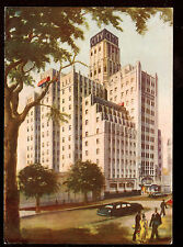 vintage City Hotel Buenos Aires Argentina South America 4 x 6 postcard