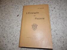 1909.L'évangile du pauvre.Baunard