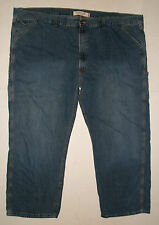 LEVIS MENS CARPENTER LOOSE STRAIGHT BLUE JEANS Sz 58x32 VINTAGE BIG n TALL good!