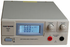 TekPower TP6010E DC Adjustable Switching Power Supply 60V 10A Digital Display