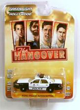 FORD CROWN VICTORIA POLICE INTERCEPTOR THE HANGOVER GREENLIGHT DIECAST 2014