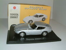 1/43 TOYOTA 2000GT IN SILVER. ATLAS EDITIONS
