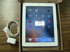 Apple iPad 2 16GB, Wi-Fi + 3G (AT&T unlocked), 9.7in - White  2nd genration gsm