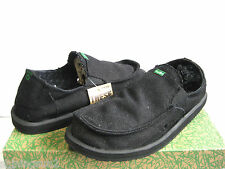 Sanuk Pick Pocke Hemp Black Men Shoes US11