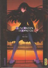 DUSK MAIDEN OF AMNESIA tome 1 Maybe manga en français shonen