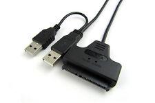 """USB 2.0 zu IDE SATA S-ATA 2.5"""" HD HDD Festplatte Adapter-Konverter-Kabel LD Nue"""