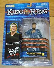 1999 WWF WWE Jakks Shane McMahon Wrestling Figure MOC King Ring Superstars 8