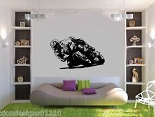 Cal Crutchlow Wall Art 02motorcycle RACER Decalcomania Grafica Adesiva Unica