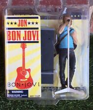 "Jon Bon Jovi 6"" Action Figure McFarlane Toys 2007 Rock Music New Sealed"