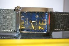 Rare Invicta Men's 2738 Vintage Collection Swiss Quartz with Blue Leather Band
