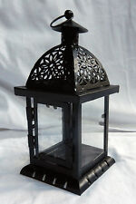 Square Traditional Moroccan Style Candle Lantern - BNIB