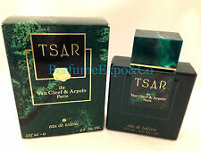 TSAR Van Cleef & Arpels 4.2oz EDT SPLASH Eau De Toilette Original NEW IN BOX (A8