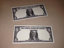 2 TWO DOLLAR BILLS MILEY CYRUS STAGE USED DOLLARS BANGERZ TOUR! MERCHANDISE VIP!