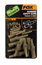 Fox Edges Running Safety Clips CAC582 Safetyclip Clip Clips