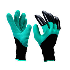 1Pair Garden Genie Gloves Fingertips Dig Plant Rose Pruning Right Hand Claw