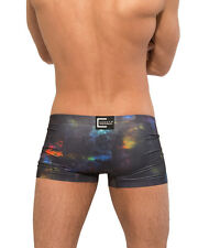 CROOTA Mens Underwear, Seamless Low Rise Boxer Briefs, Open size L/XL