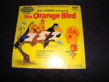 WALT DISNEY PRODUCTIONS THE ORANGE BIRD RECORD 33 RPM DISNEYLAND ANITA BRYANT !!
