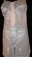 Vintage Girdle, Extra Firm, Long Leg, Cortland, Satin Front, ,Nylon, Full Body