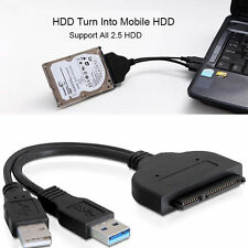 USB3.0 to 2.5inch HDD SATA Hard Drive Cable Adapter for SATA3.0 SSD&HDD HOT!