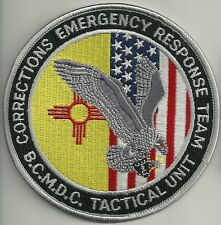 NEW MEXICO  TACTICAL UNIT Correction ERT SWAT SEK Police Patch Polizei Abzeichen