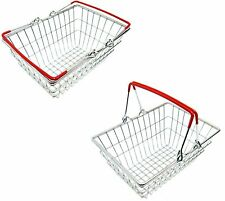 Stainless Steel Mini Wire Shopping Basket Chip Wedges Food Presentation Basket
