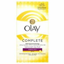 OLAY ESSENTIALS COMPLETE CARE NORMAL SKIN DAY FLUID SPF15 - 100ML