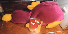 ULTRA RARE Authenticated Ty 1st gen MWMT MQ! Patti Beanie Baby - Korean Tags