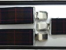 BRACES SUSPENDERS • 35mm Wide Thick Strap • Mens Ladies • GIFT • BOXED #24-114