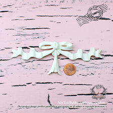 "Shabby Chic Furniture Appliques ""French Bow"""