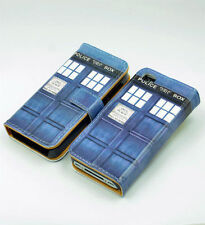 New Doctor Who Tardis Leather Wallet Card Case Cover Stand For Apple iphone 4 4S