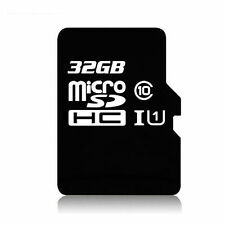 NEW BOX 32GB 32G MICRO SD SDHC CLASS10 FLASH MEMORY CARD Fit Camera Phone tablet