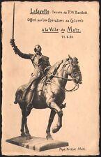 57 - Metz. Carte photo. Lafayette. Statue offerte par les Chevaliers de Colomb