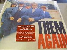 THEM - Again - LP 180g Vinyl // Neu&OVP // feat. Van Morrison