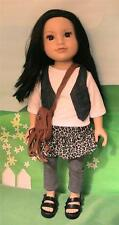 Journey Girls Asian Doll in Vest Outfit